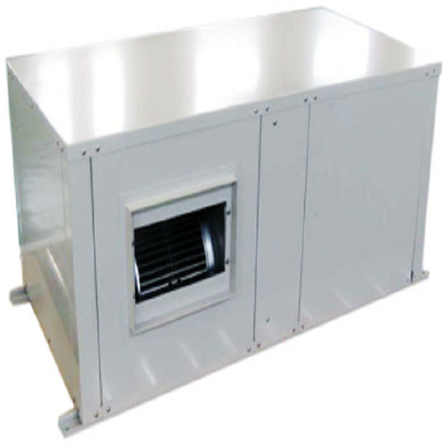 Horizontal ceiling geothermal system water source ground source heat pump packaged unit