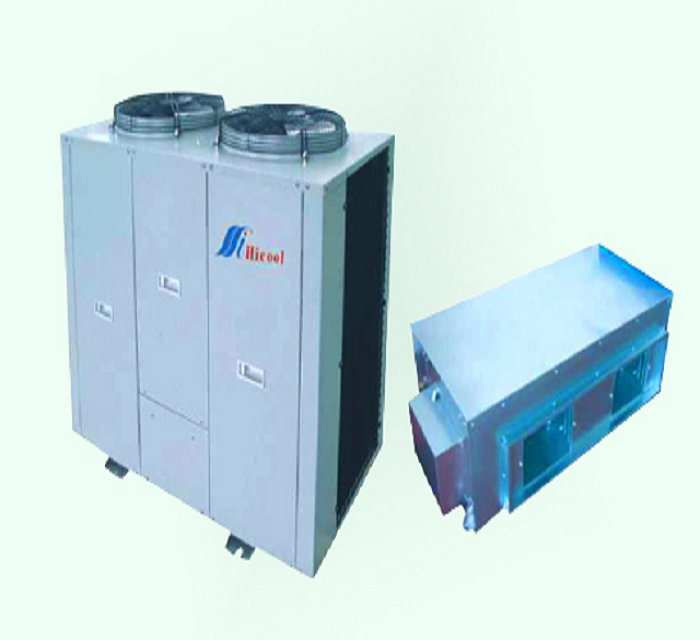 High static pressure duct split air conditioner split  system  with indoor unit fan coil