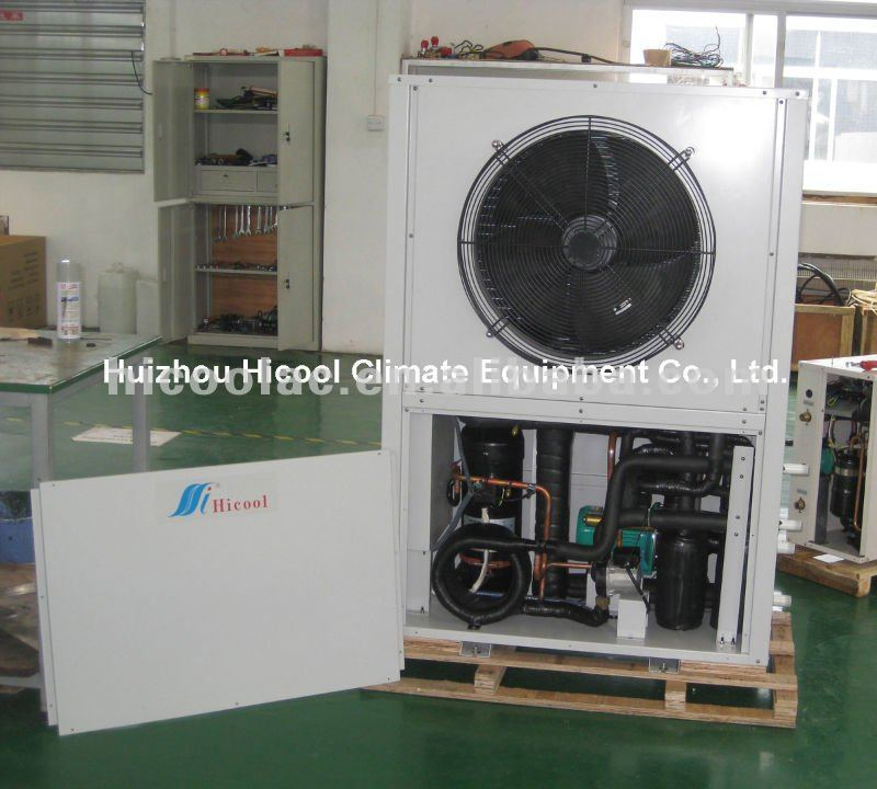 Small Air Cooled Heat Recovery Chiller Unit