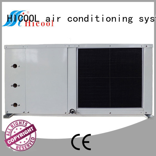 HICOOL cooled Water-cooled Air Conditioner with 40% power saving for horticulture industry