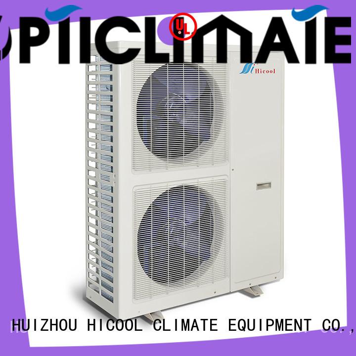 parameter split system heat pump conditioner for achts HICOOL