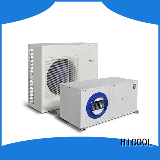 HICOOL split system hvac suppliers for hot- dry areas