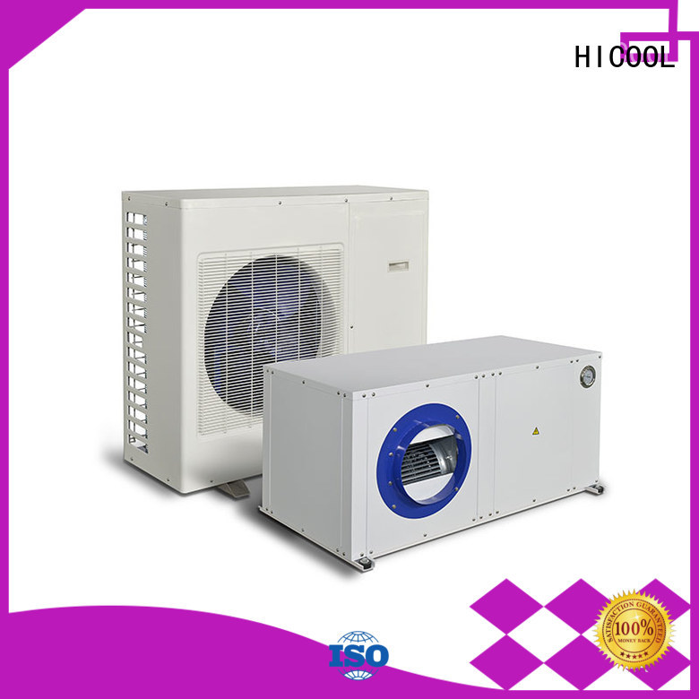 HICOOL mini split heat pump system from China for apartments
