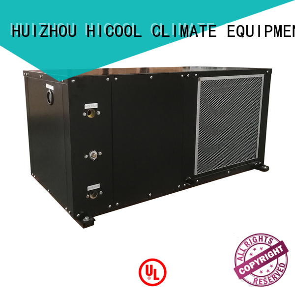 HICOOL low-cost water cooled packaged air conditioner supplier for hot- dry areas