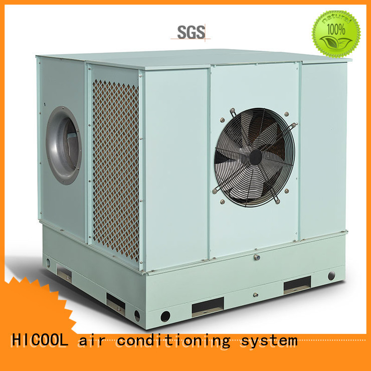 two-stage greenhouse evaporative cooler wholesale for apartments HICOOL