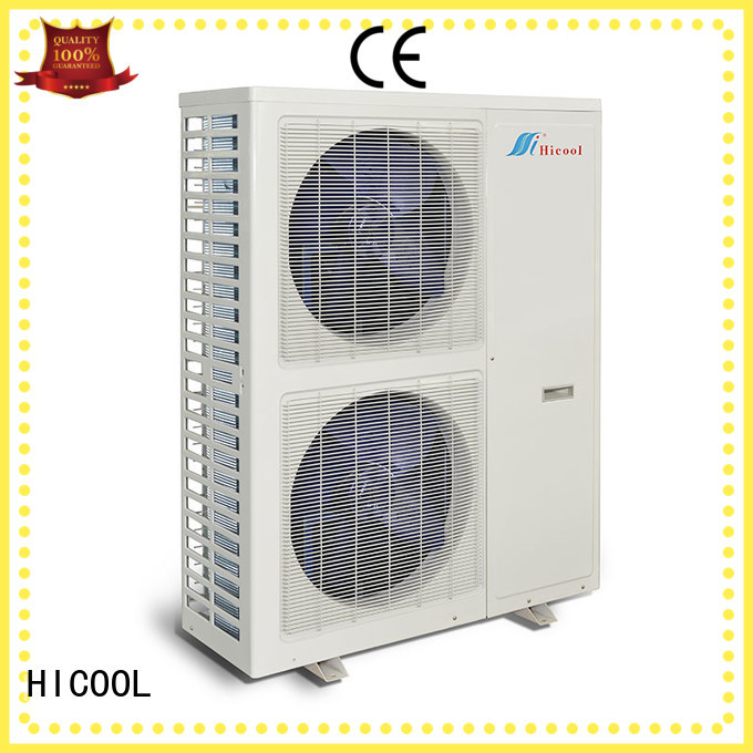 HICOOL split system air conditioning system from China for villa