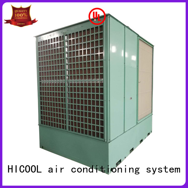 evaporative cooling unit two-stage for urban greening industry HICOOL
