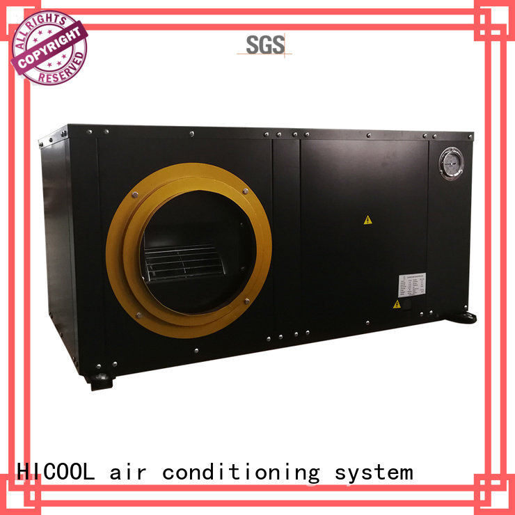HICOOL worldwide water cooled home air conditioner company for horticulture