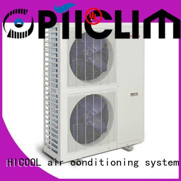 split heat pump units for urban greening industry HICOOL