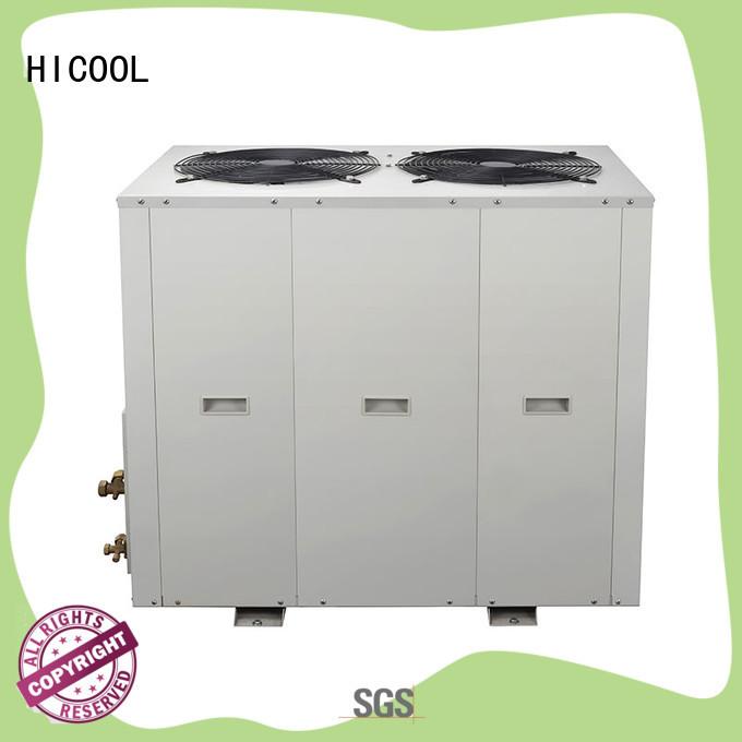 HICOOL heat split unit air conditioner parameter place