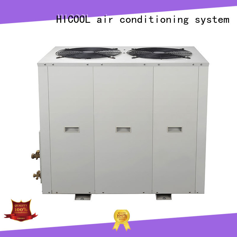 online split unit air conditioner with high quality for urban greening industry HICOOL