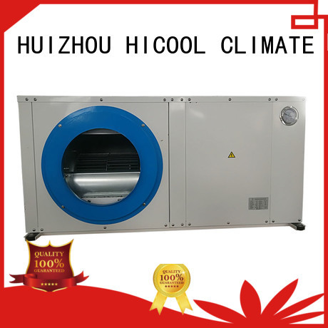 HICOOL advanced water source heat pump cooled for apartments