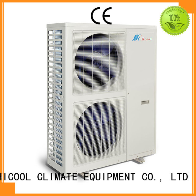 HICOOL energy-saving split system air conditioning unit series for achts