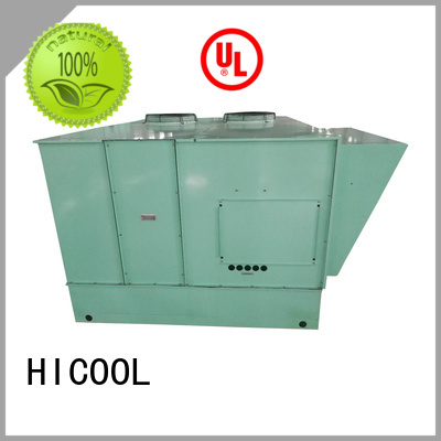HICOOL opticlimate two stage evaporative cooling series for urban greening industry