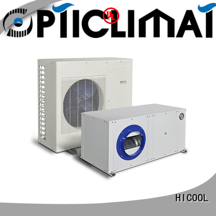 latest split system heat pump from China for hot- dry areas