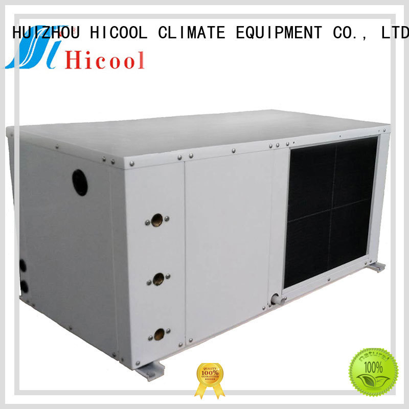 water cooled heat pump package unit heat for achts HICOOL