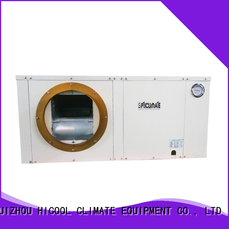 HICOOL best water source heat pump system company for apartments