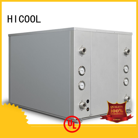 HICOOL packaged water source heat pump cost series for offices