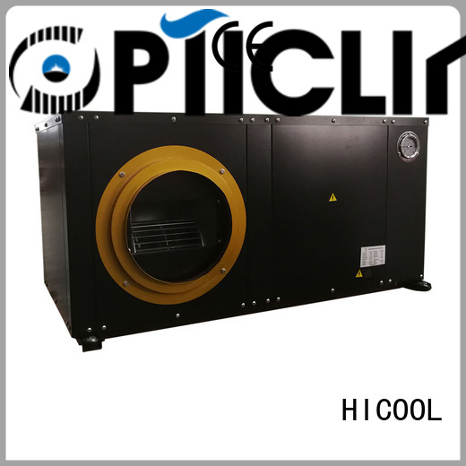 HICOOL practical water source heat pump manufacturers with good price for hot- dry areas