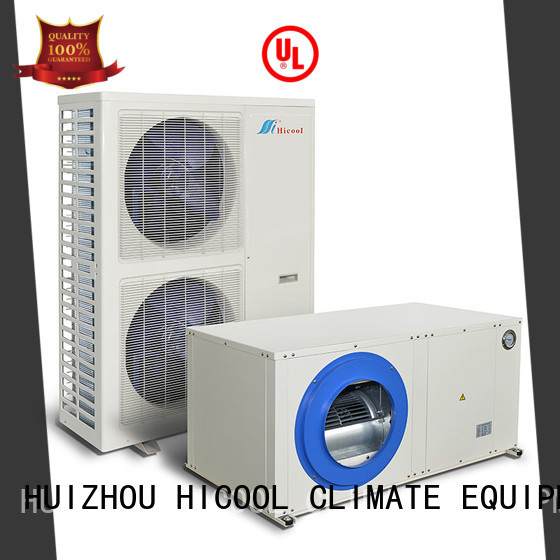excellent split system heating and cooling supplier for greenhouse industry HICOOL