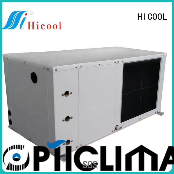 water source heat pump cost cooled place HICOOL