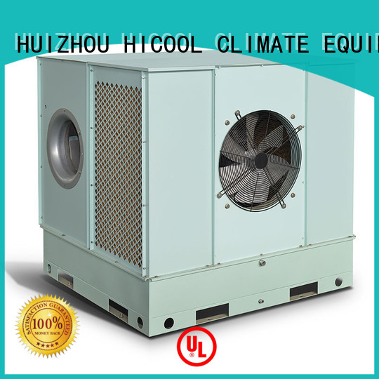 two-stage greenhouse evaporative cooler opticlimate for apartments HICOOL