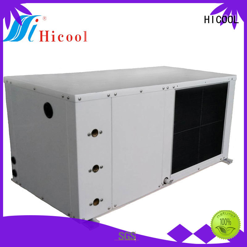 HICOOL top quality water source heat pump factory direct supply for hot- dry areas