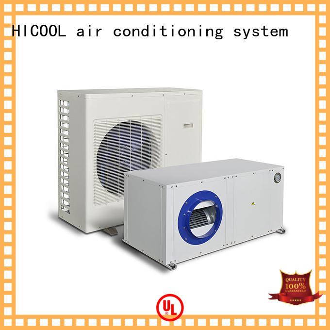 parameter split heat pump heat for urban greening industry HICOOL