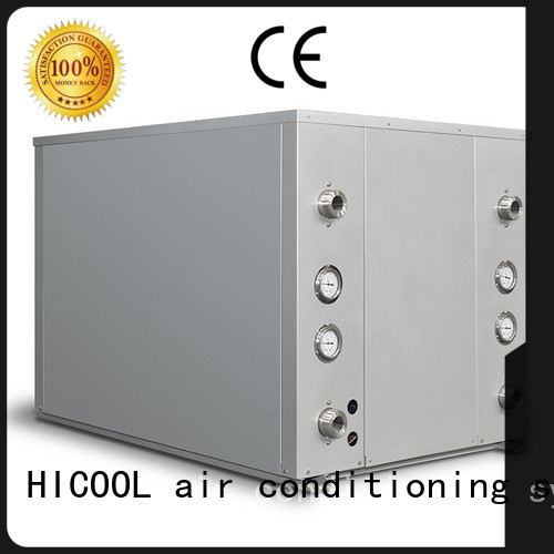 HICOOL water cooled ac unit manufacturer for hotel