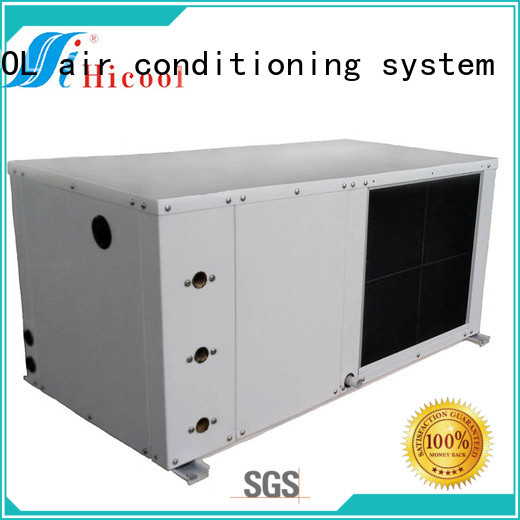 HICOOL water cooled package unit factory direct supply for offices