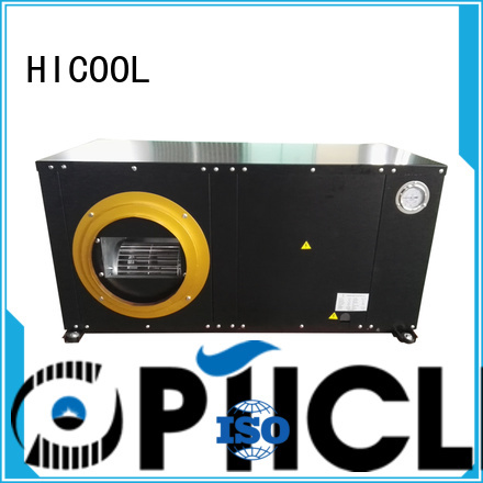 HICOOL packaged water source heat pump units flat