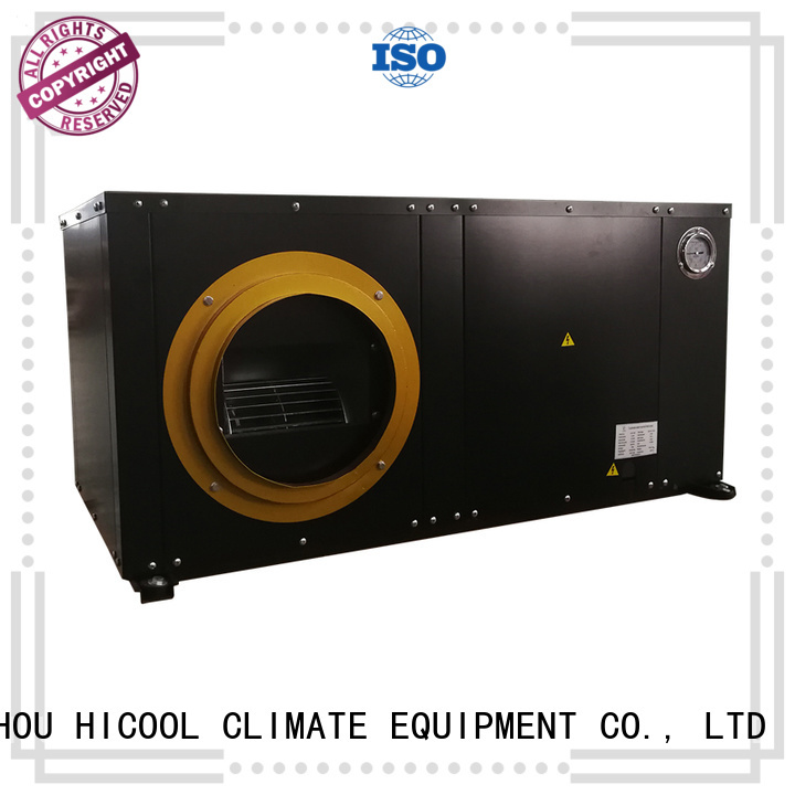 water cooled heat pump package unit cooled place HICOOL