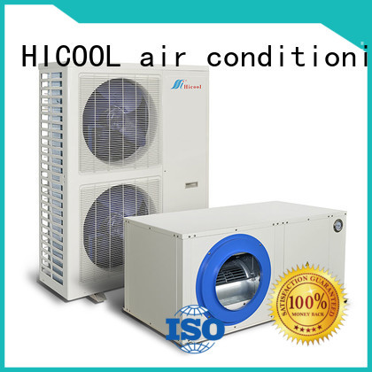 excellent split system heating and cooling manufacturer for urban greening industry HICOOL