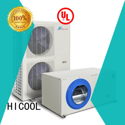 HICOOL reliable split system hvac directly sale for greenhouse