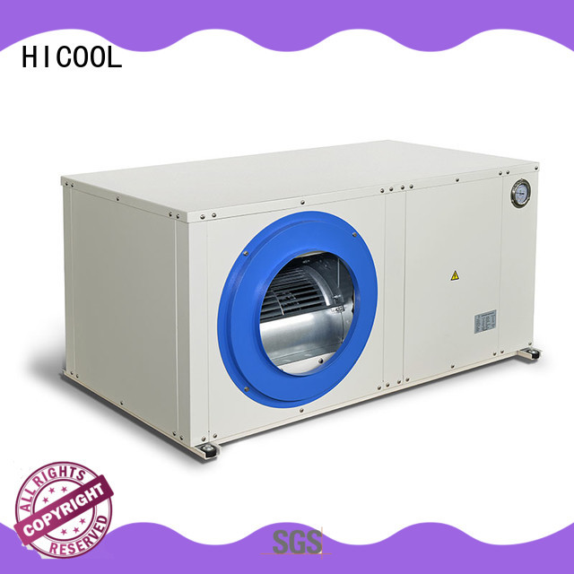 HICOOL hot selling water cooled central air conditioner with good price for hot- dry areas