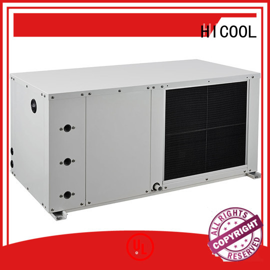 heat water source heat pump cost with 40% power saving for achts HICOOL