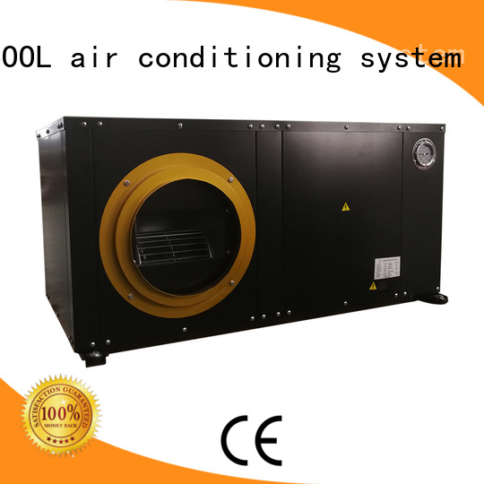 HICOOL packaged Water-cooled Air Conditioner on sale for urban greening industry