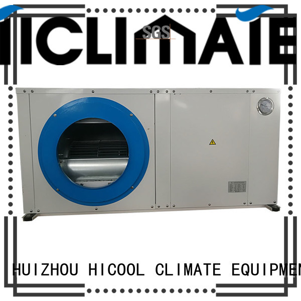 HICOOL heat water source heat pump cooled flat