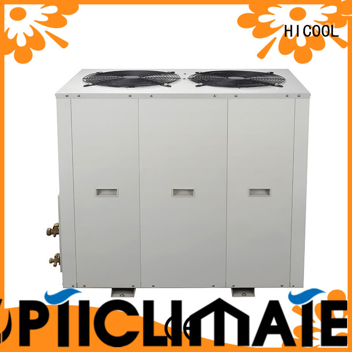HICOOL split system ac and heat directly sale for urban greening industry