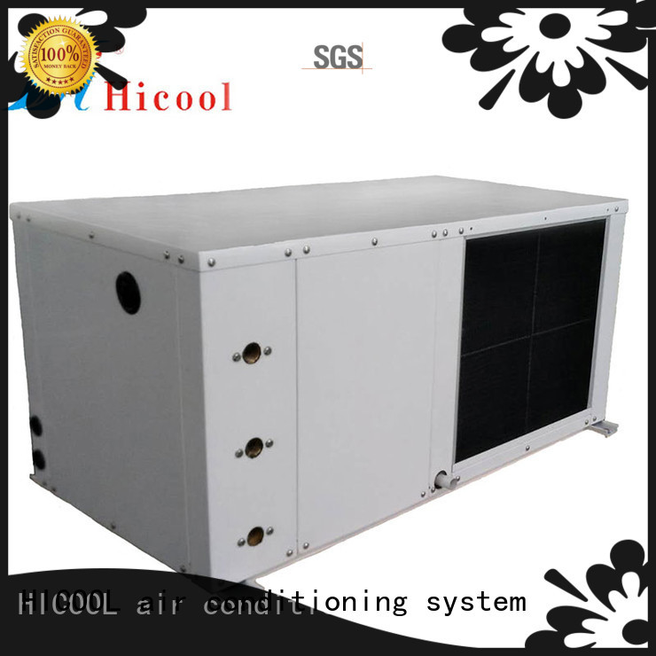 stable water cooled central air conditioner supply for urban greening industry