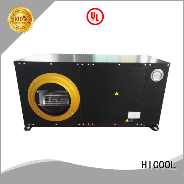 HICOOL water cooled package unit system from China for hotel