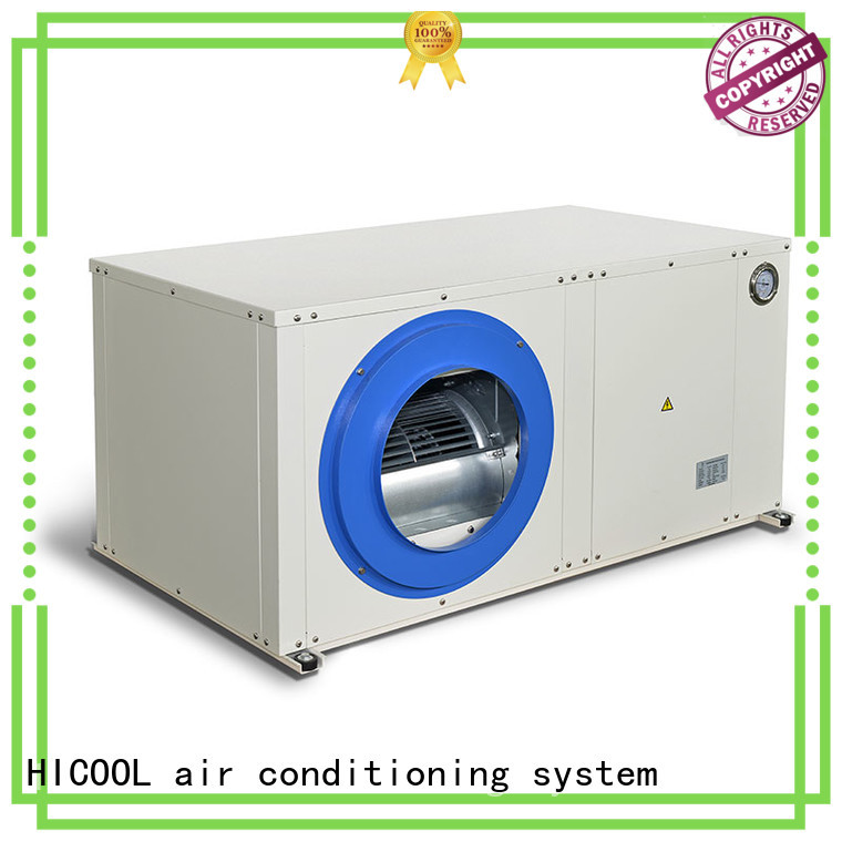 HICOOL professional water cooled package unit system wholesale for achts