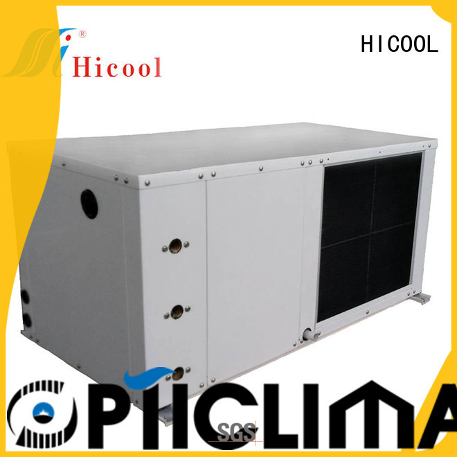 HICOOL online water source heat pump manufacturers sale for greenhouse industry