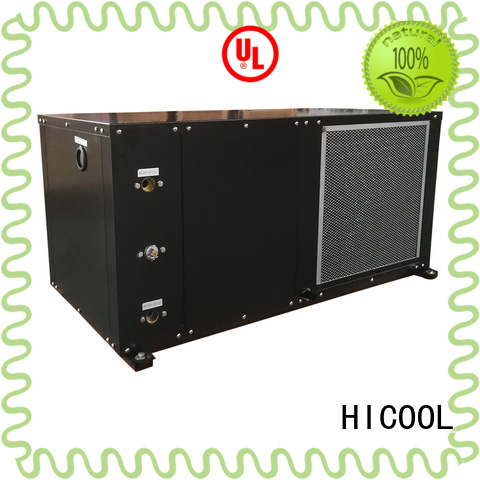 HICOOL cheap water cooled air conditioning system supplier for achts
