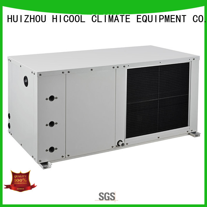 HICOOL water cooled package unit system wholesale for hotel