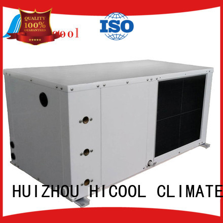 HICOOL hot selling water cooled package unit manufacturer for achts