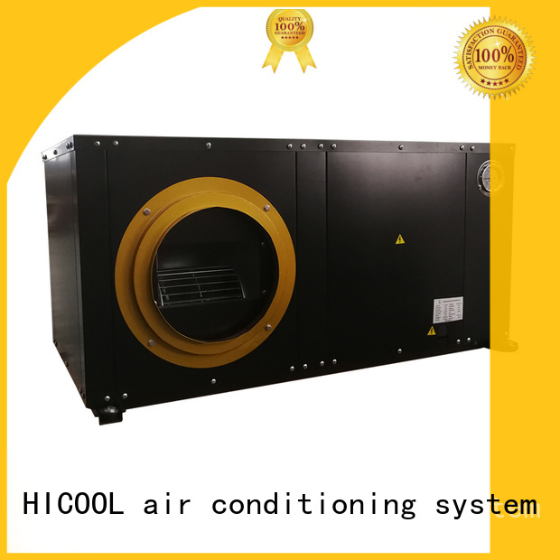 HICOOL factory price water cooled air conditioning system supply for achts