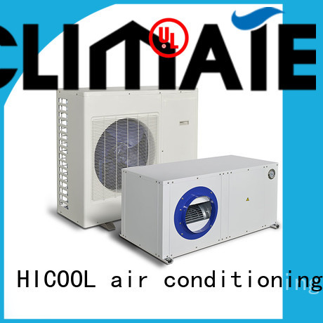 HICOOL online split system heat pump to achieve the desired climate for greenhouse industry