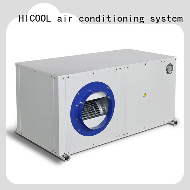 HICOOL professional water source heat pump for sale directly sale for achts