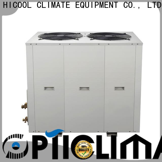 HICOOL split heat pump supply for achts